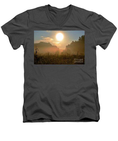 Sunny Side Up Men's V-Neck T-Shirt