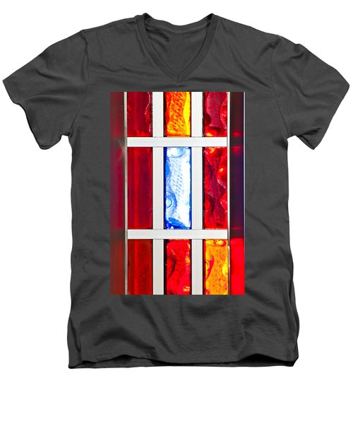 Surrounded By Color Men's V-Neck T-Shirt