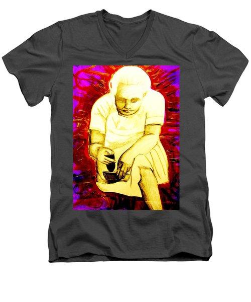 Suruhana Men's V-Neck T-Shirt