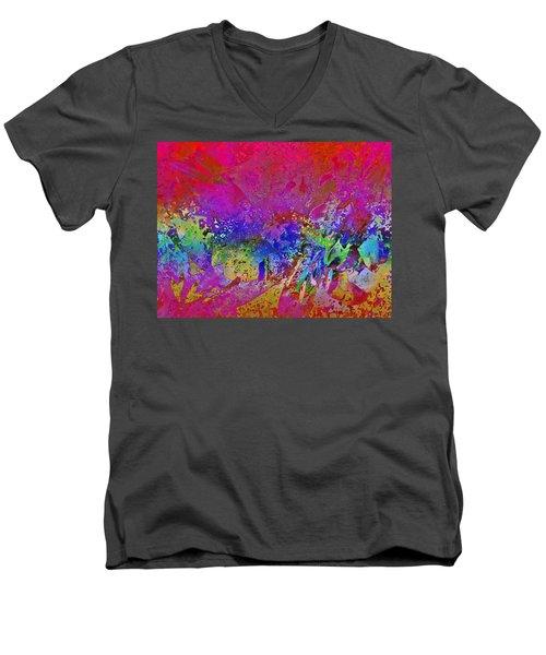 Men's V-Neck T-Shirt featuring the photograph Teri Meri  by David Pantuso