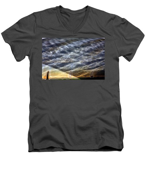 Thames Reflections Men's V-Neck T-Shirt