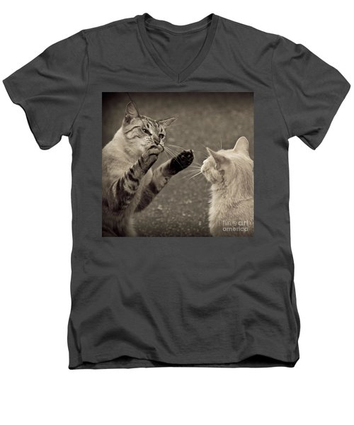 That Mouse Was This Big Men's V-Neck T-Shirt