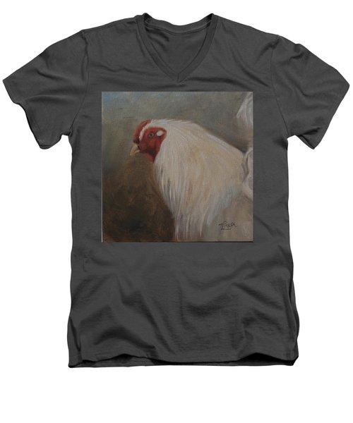 The Colonel Men's V-Neck T-Shirt