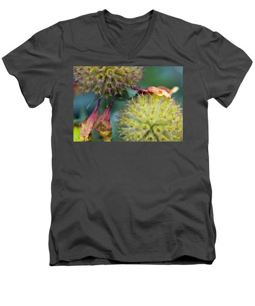 The End Of Summer Men's V-Neck T-Shirt by Susan Stone