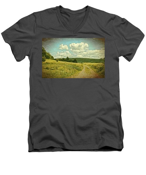 The Farm Road Men's V-Neck T-Shirt