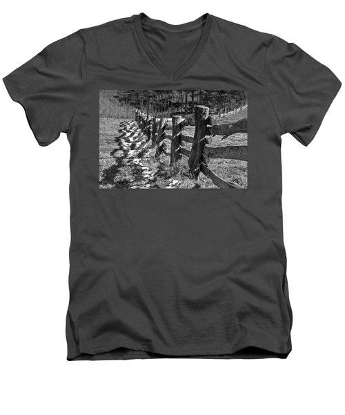 The Fence Men's V-Neck T-Shirt