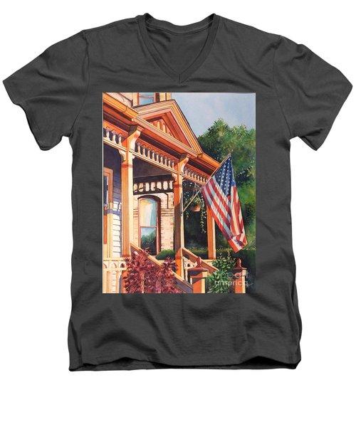 The Founders Home Men's V-Neck T-Shirt