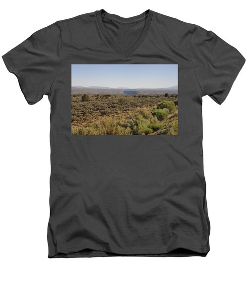 The Gorge On The Mesa Men's V-Neck T-Shirt