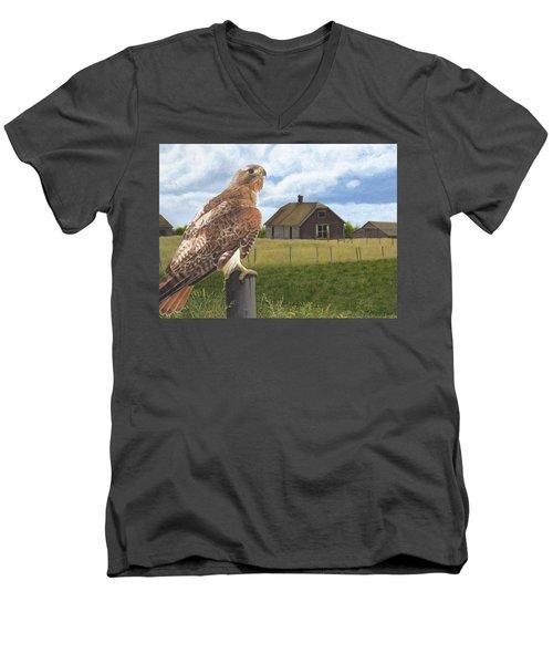 The Grounds Keeper Men's V-Neck T-Shirt