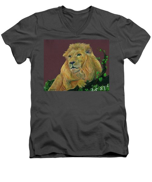 The Mighty King Men's V-Neck T-Shirt