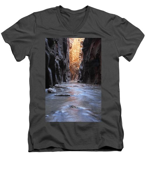 The Narrows Men's V-Neck T-Shirt