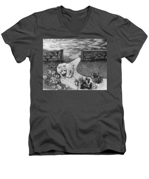 The Predator And The Prey Men's V-Neck T-Shirt