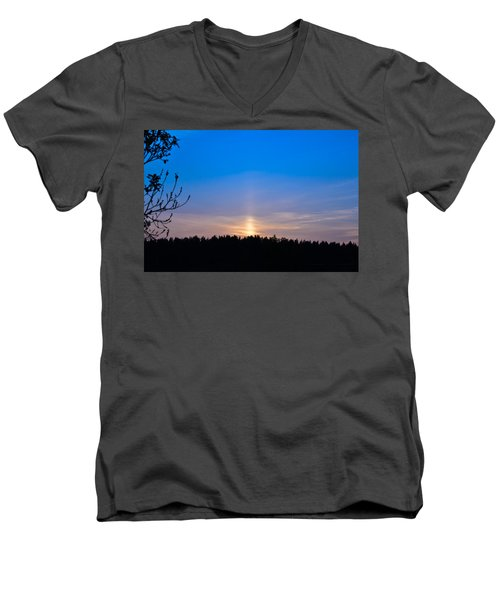 The Road To The Sky Men's V-Neck T-Shirt