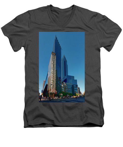Time Warner Center Men's V-Neck T-Shirt