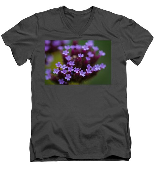 tiny blossoms II Men's V-Neck T-Shirt by Andreas Levi