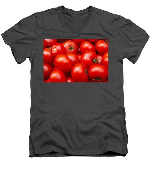 Tomatos Men's V-Neck T-Shirt