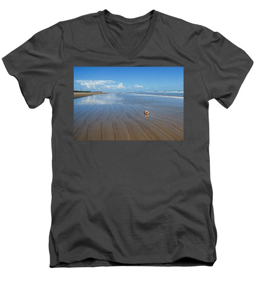 Tranquility Men's V-Neck T-Shirt by Fotosas Photography