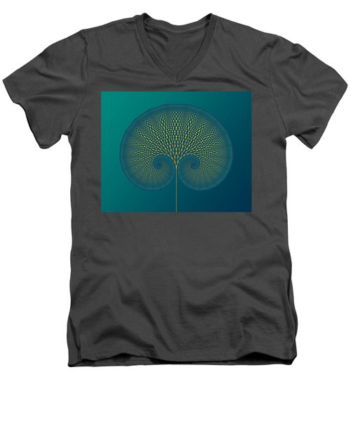 Tree Of Well-being Men's V-Neck T-Shirt