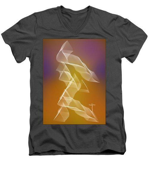 . Men's V-Neck T-Shirt