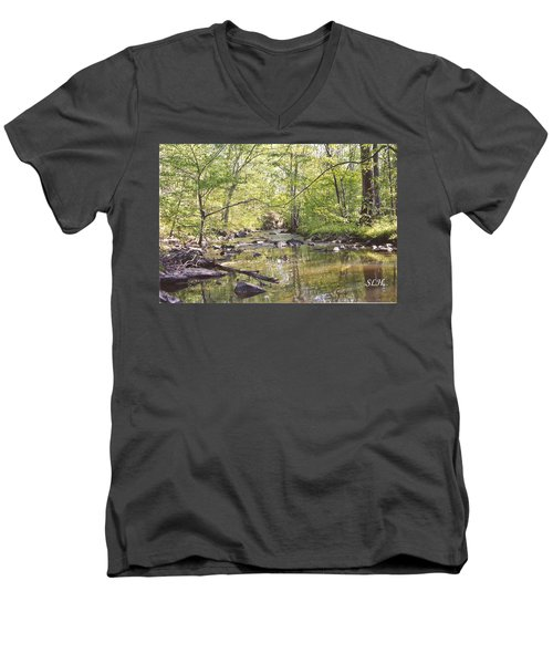 Trinity Foundry Men's V-Neck T-Shirt