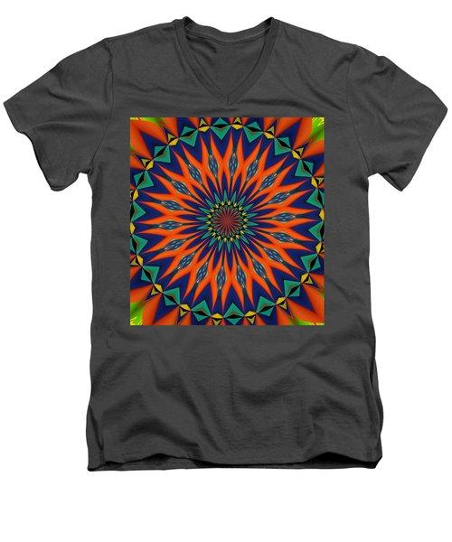 Tropical Punch Men's V-Neck T-Shirt by Alec Drake