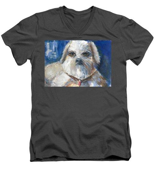 Trouble Men's V-Neck T-Shirt