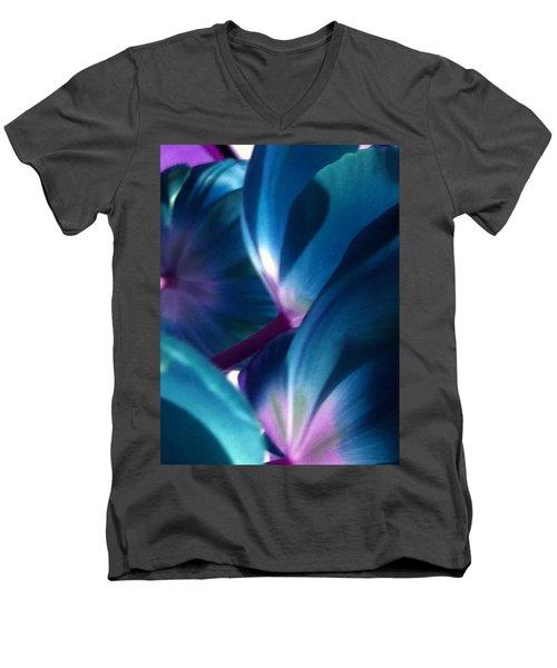 Tulip Blues Men's V-Neck T-Shirt