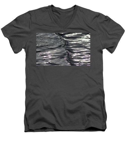 Velvet Ripple Men's V-Neck T-Shirt by Cathie Douglas
