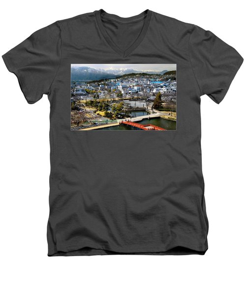 View Fromthe Top Men's V-Neck T-Shirt