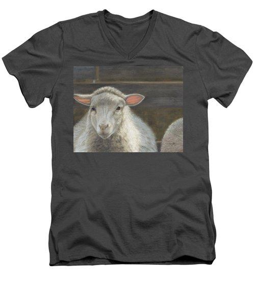 Waiting For The Shepherd Men's V-Neck T-Shirt