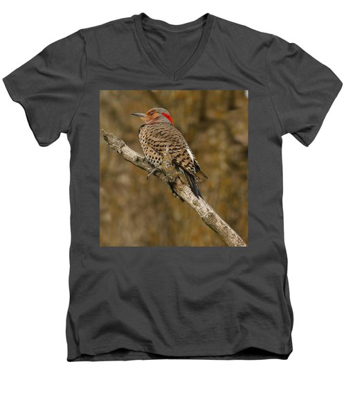 Men's V-Neck T-Shirt featuring the photograph Watchful Eye by Elizabeth Winter