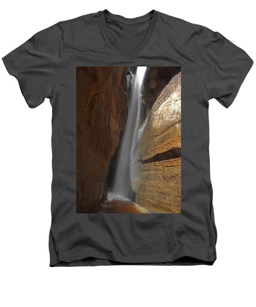 Water Canyon Men's V-Neck T-Shirt