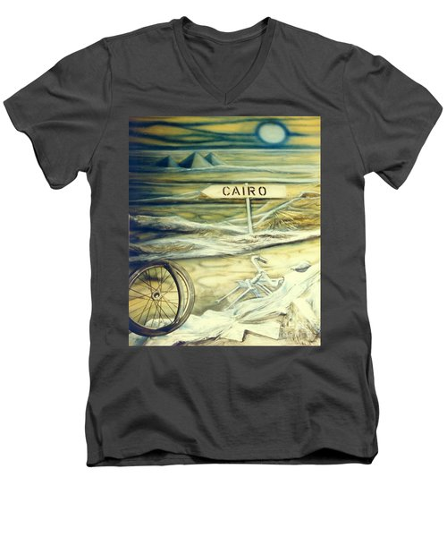 Way To Cairo Men's V-Neck T-Shirt