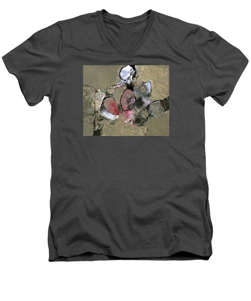 Welterweight  Men's V-Neck T-Shirt by Cliff Spohn