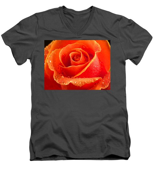 Wet Rose Men's V-Neck T-Shirt