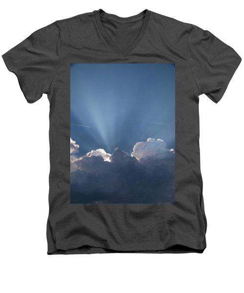 What A Light Show Men's V-Neck T-Shirt