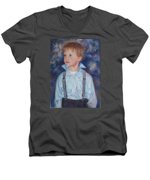 Blue Boy Men's V-Neck T-Shirt