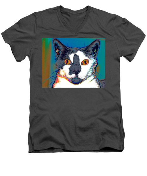 Wild Eyes Men's V-Neck T-Shirt