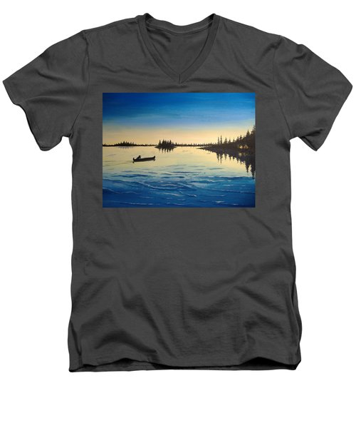 Wilderness Camp Men's V-Neck T-Shirt
