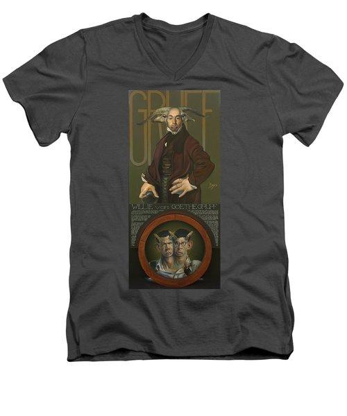 Willie Von Goethegrupf Men's V-Neck T-Shirt by Patrick Anthony Pierson
