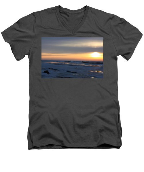 Winter Sleeps Men's V-Neck T-Shirt