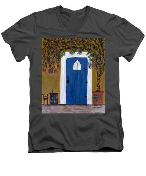 Wisteria Winery Men's V-Neck T-Shirt