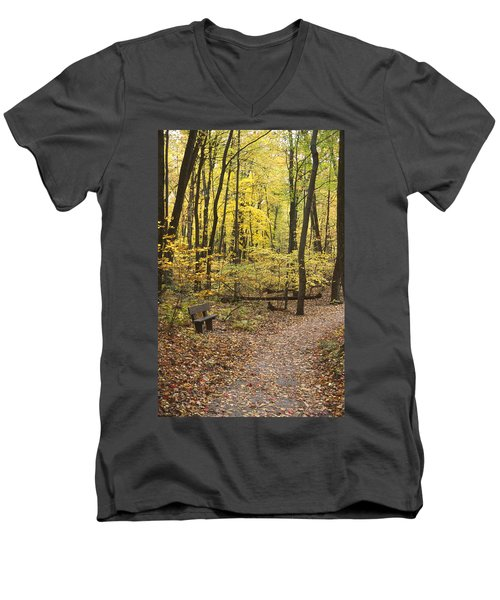 Woodland Respite Men's V-Neck T-Shirt