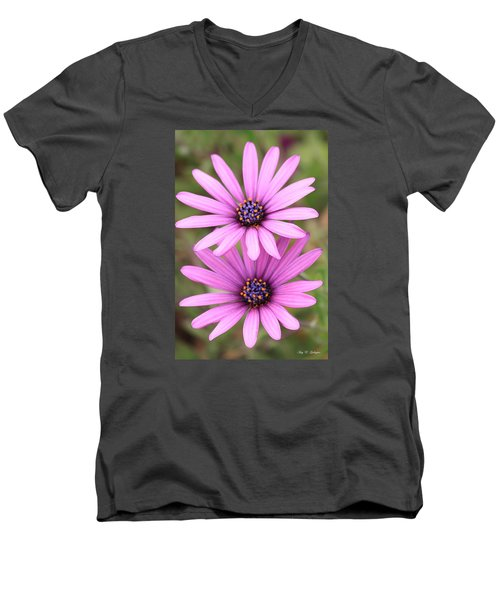 Men's V-Neck T-Shirt featuring the photograph You And Me  by Amy Gallagher