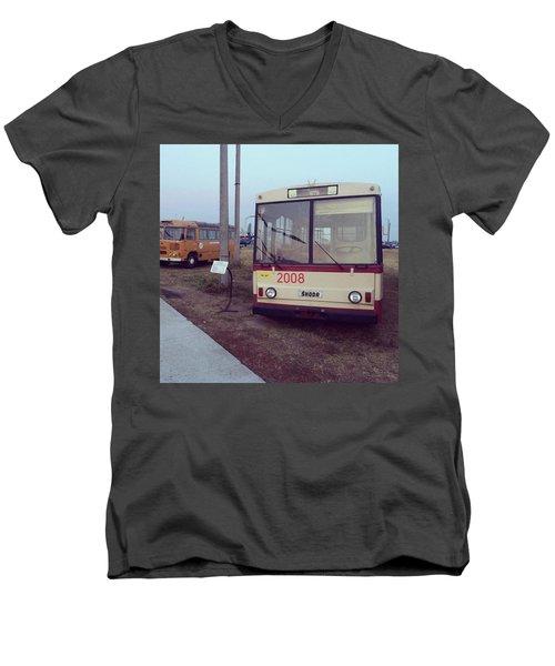 Shkoda Retro Men's V-Neck T-Shirt