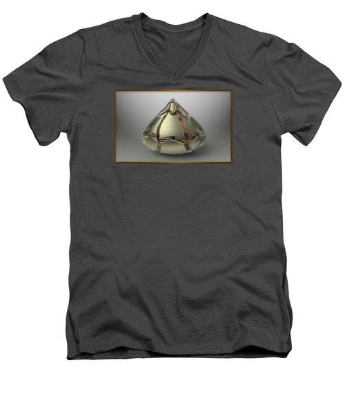 ' A Candy Kiss Puzzler ' Men's V-Neck T-Shirt