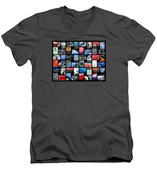 Bmw Art -01 Men's V-Neck T-Shirt by Jill Reger