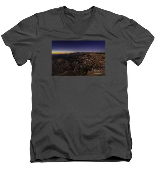 Bryce Amphitheater  Men's V-Neck T-Shirt