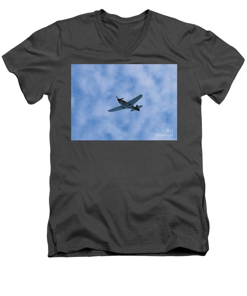 Fly Tiger 2 Men's V-Neck T-Shirt