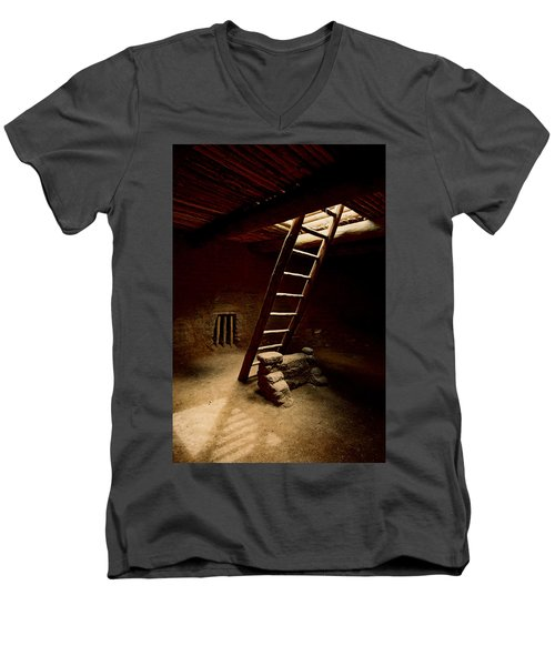 House Of Reflection And Prayer Men's V-Neck T-Shirt
